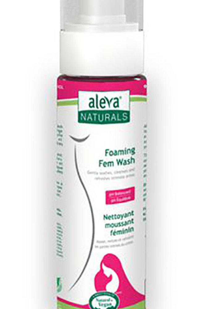 Aleva - Nettoyant moussant intime pour femmes 200ml