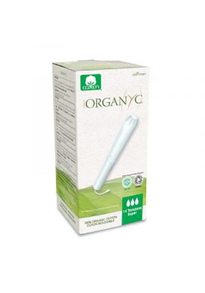 Organyc - Tampons avec applicateur Super 14