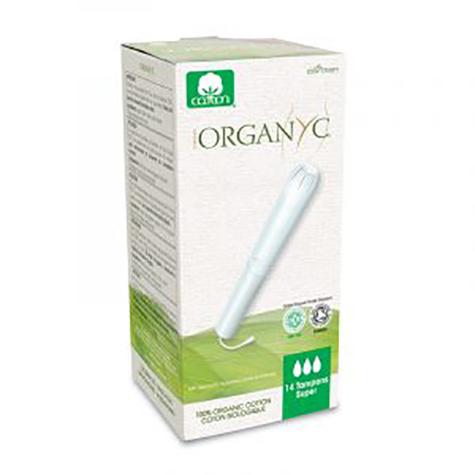 Organyc Organyc - Tampons avec applicateur Super 14