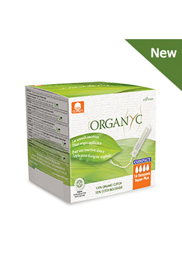 Organyc - Tampons super+ compact 16