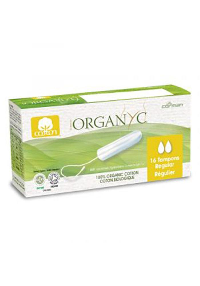 Organyc - Tampons sans applicateur Régulier 16