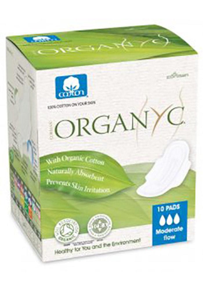 Organyc - Serviettes flux normal 10X