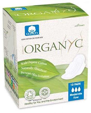 Organyc Organyc - Serviettes flux normal 10X