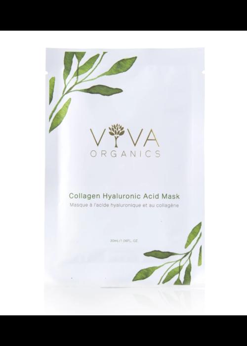Viva organics Viva organics - Masque acide hyaluronique et collagène 30ml