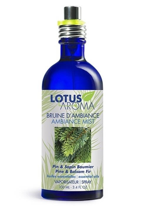 Lotus Aroma Lotus Aroma - Bruine d'ambiance pin et sapin baumier 100ml