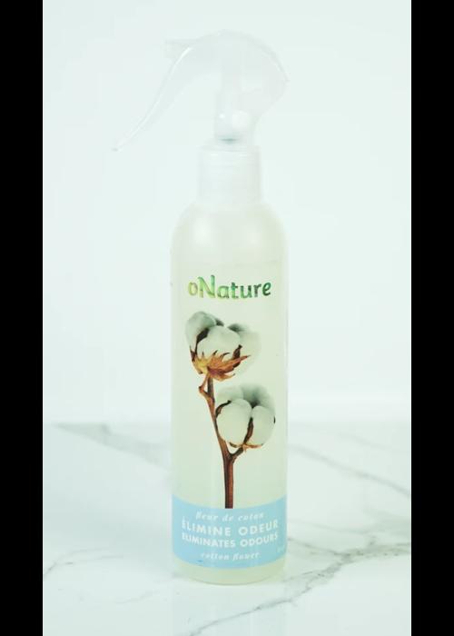 ONature O'Nature - Élimine odeur Fleur de coton