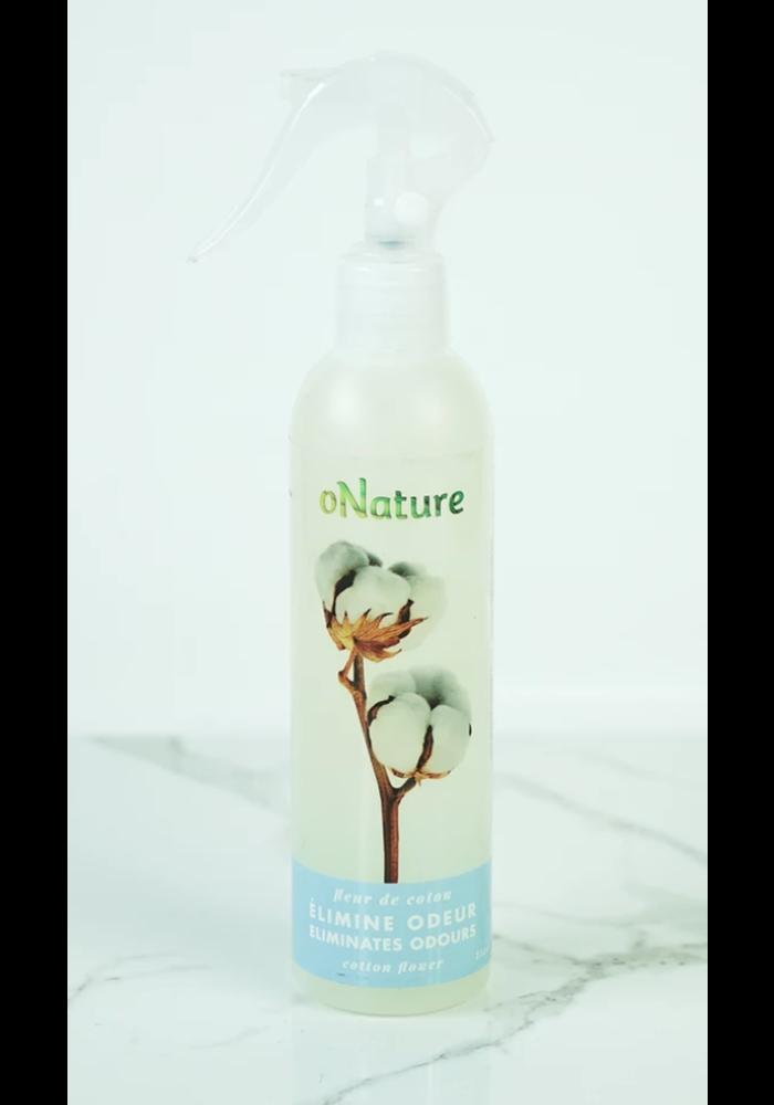 O'Nature - Élimine odeur Fleur de coton