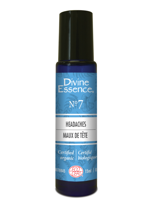 Divine essence Divine Essence - Formule 7 - Maux de tête Roll-on 15 ml