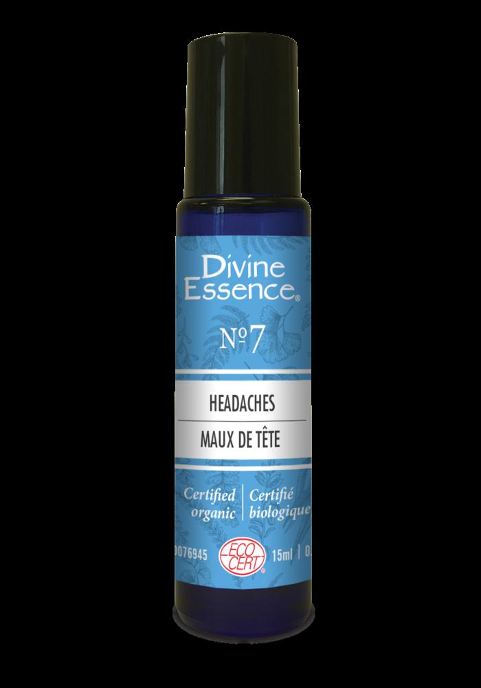 Divine Essence - Formule 7 - Maux de tête Roll-on 15 ml