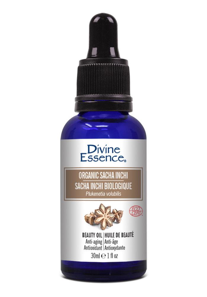 Divine essence - Huile végétale Sacha Inchi biologique 30 ml