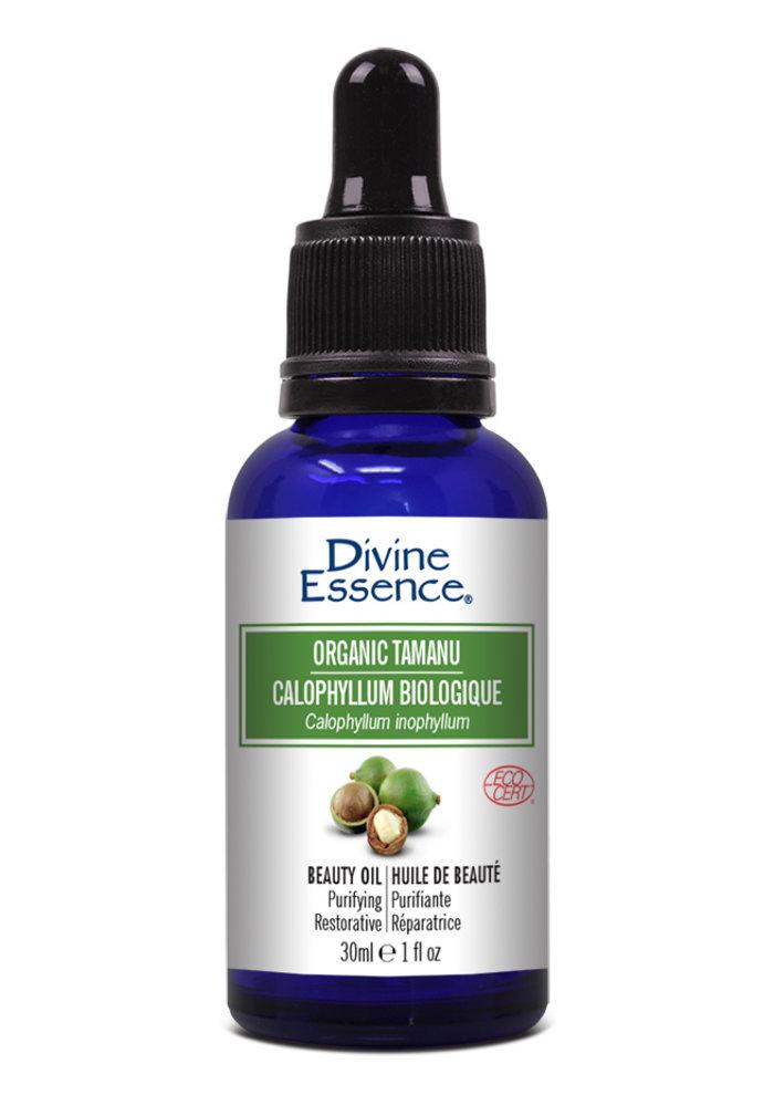 Divine Essence -  Huile végétale bio - Tamanu  ( Calophyllum )30ml