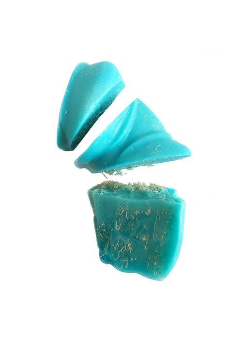 Les Savons de la Bastide Les Savons de la Bastide - Savon Courge GROS MORCEAUX- Framboise Bleue