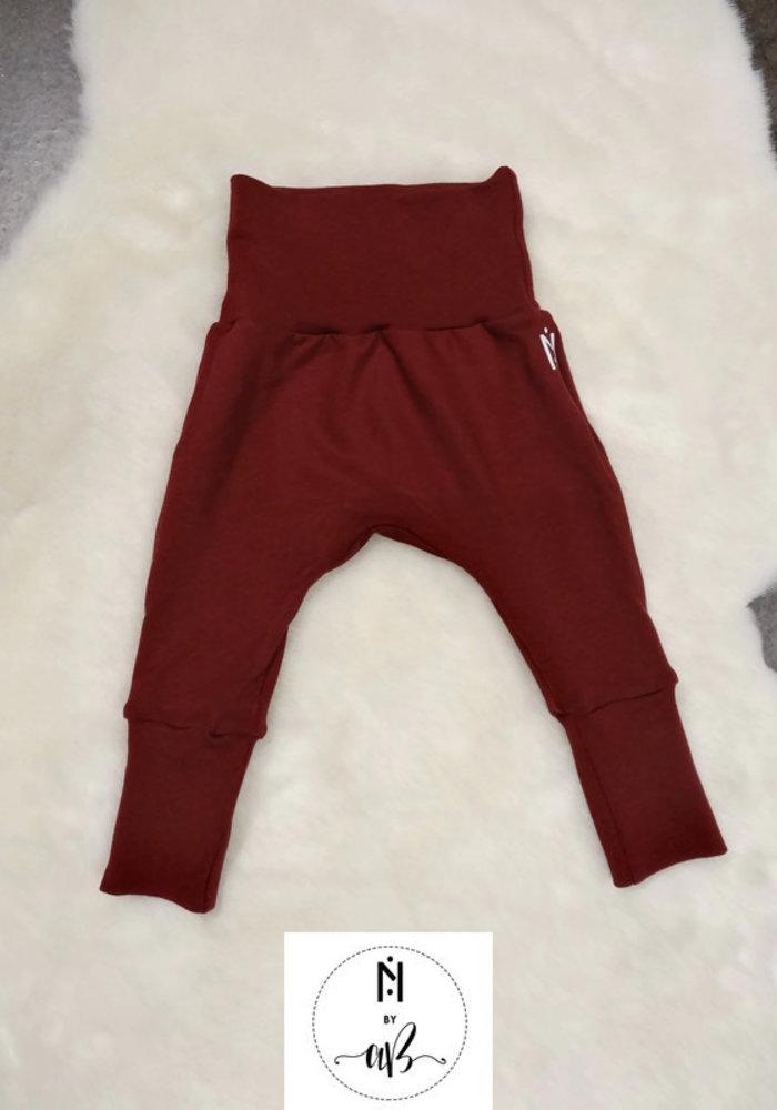 Nörskin Collection - Pantalons évolutifs bourgogne