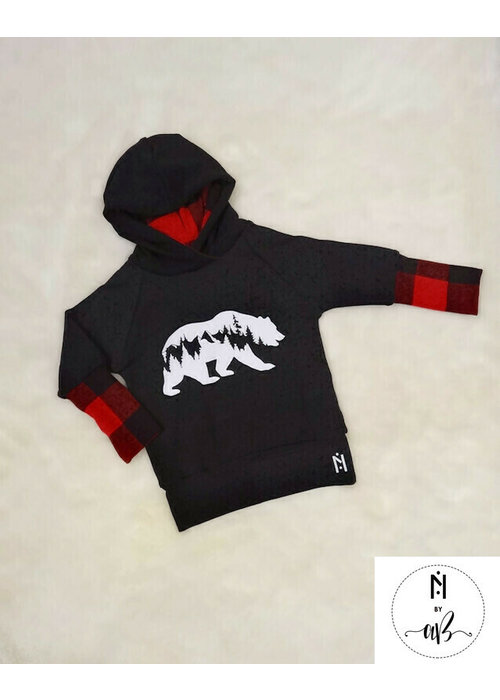 Collection Nörskin Hoodie carotté Ours