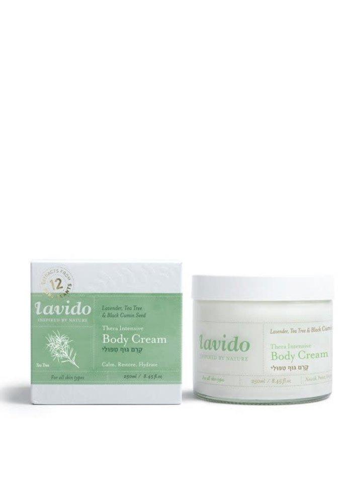 Lavido - Crème corps Théra intensive - lavande, tea tree et grain de cumin noir 250 ml