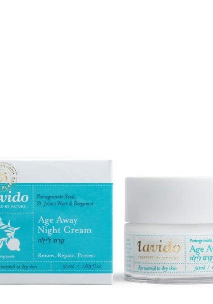 Lavido - Crème de nuit pour le visage Anti-âge 50 ml