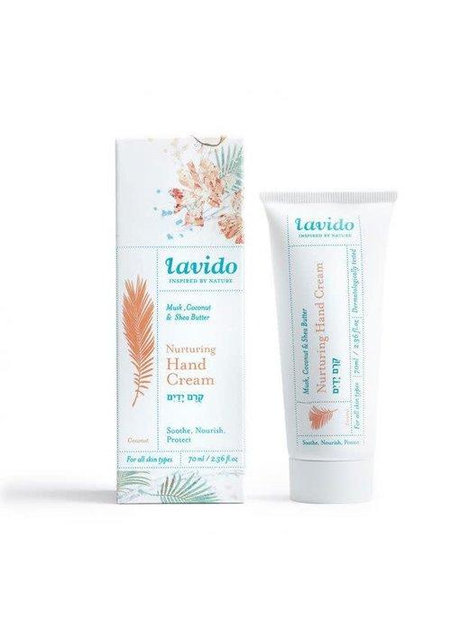 Lavido Lavido - Crème pour les mains nutritive - musk, noix de coco et beurre de karité 70 ml