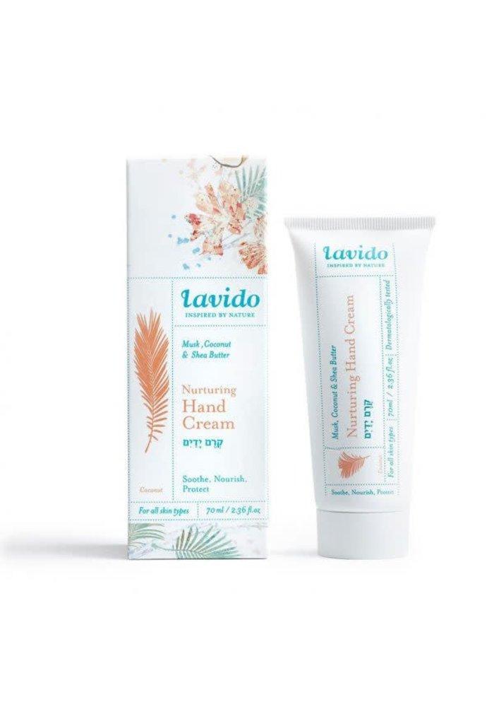 Lavido - Crème pour les mains nutritive - musk, noix de coco et beurre de karité 70 ml