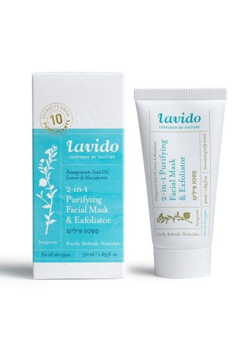 Lavido Lavido - Masque et Exfoliant Purifiant  50 ml
