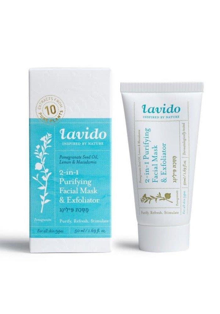 Lavido - Masque et Exfoliant Purifiant  50 ml
