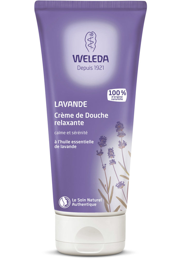 Weleda - Crème de douche Lavande