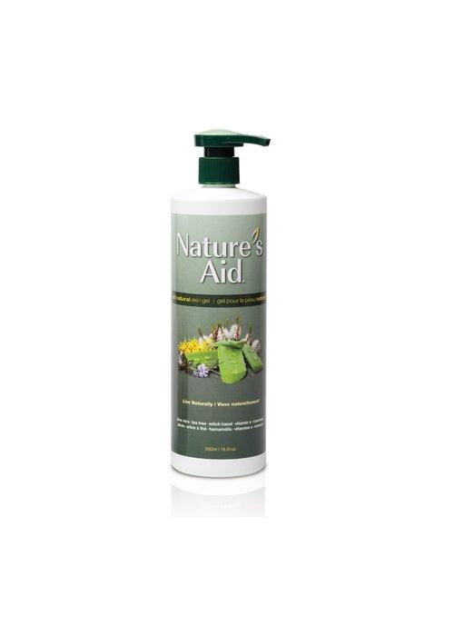 Nature's Aid Nature's Aid - Aloès gel pour la peau naturel 1L