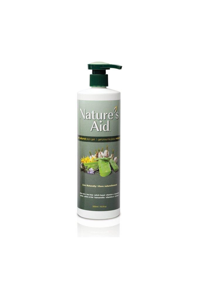 Nature's Aid - Aloès gel pour la peau naturel 1L