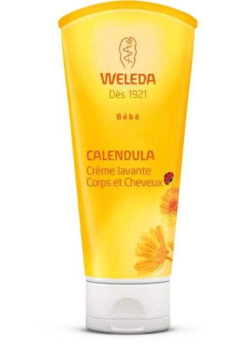 Weleda Weleda - Shampooing et crème douche doux 2 en 1 Calendula Baby 200ml