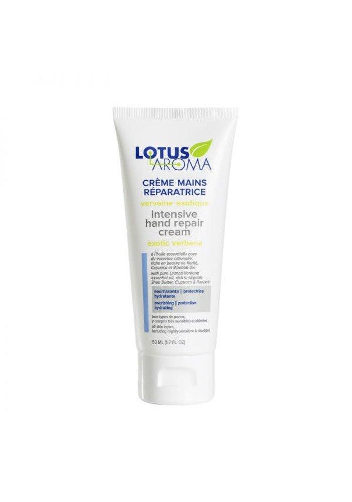 Lotus Aroma - Crème  mains réparatrice -  Verveine Exotique 50ml