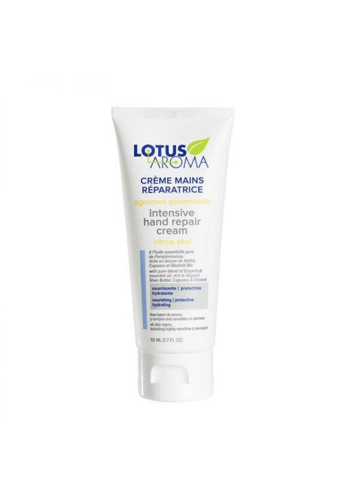Lotus Aroma - Crème mains réparatrice - Agrumes Gourmands 50ml