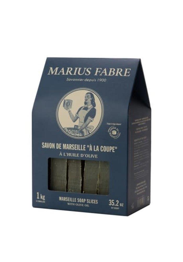 Marius Fabre - Boîte savon de marseille 1kg