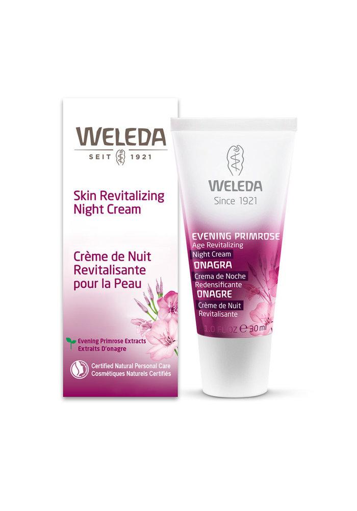 Weleda - Crème de nuit revitalisante pour la peau Onagre 30 ml