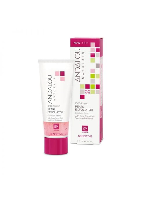 Andalou Andalou - 1000 Roses SENSITIVE - Exfoliant Perle 58 ml
