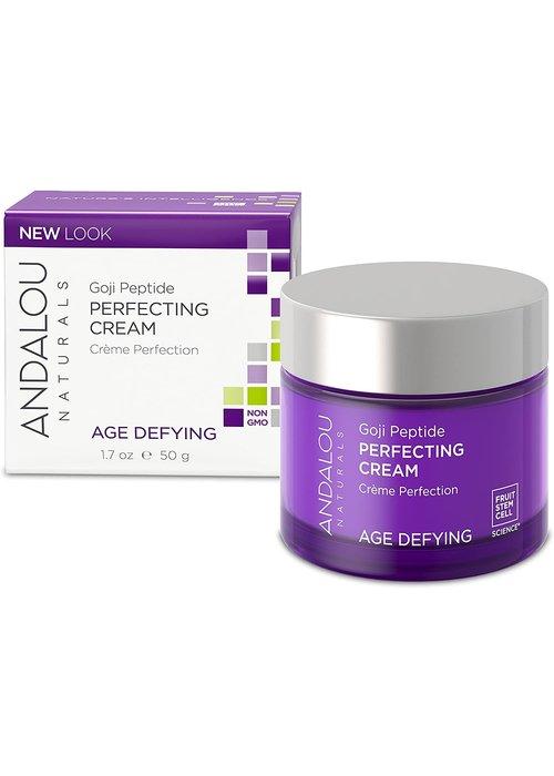 Andalou Andalou - AGE DEFYING - Crème visage Perfection - Goji Peptide 50g