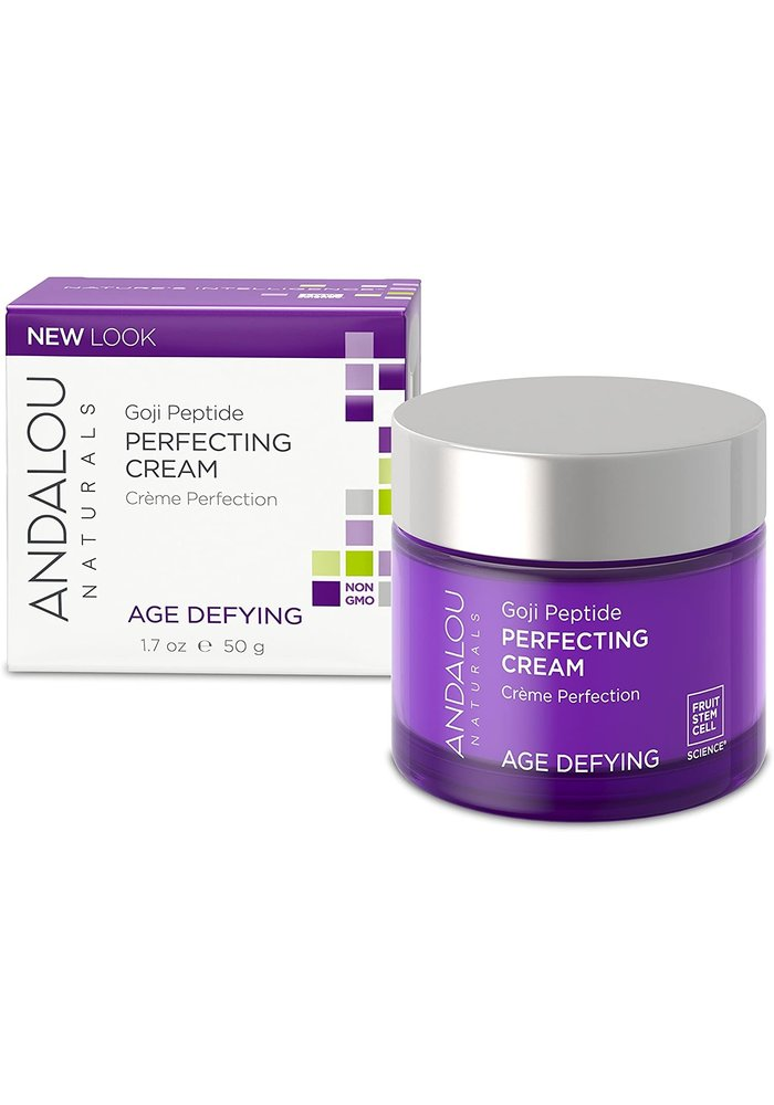 Andalou - AGE DEFYING - Crème visage Perfection - Goji Peptide 50g