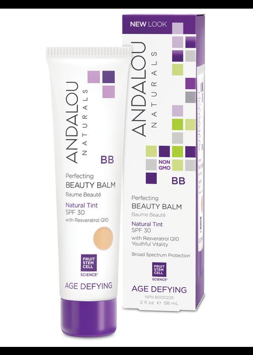 Andalou Andalou - AGE DEFYING - Baume Beauté BB crème FPS 30 - Natural Tint 58ml