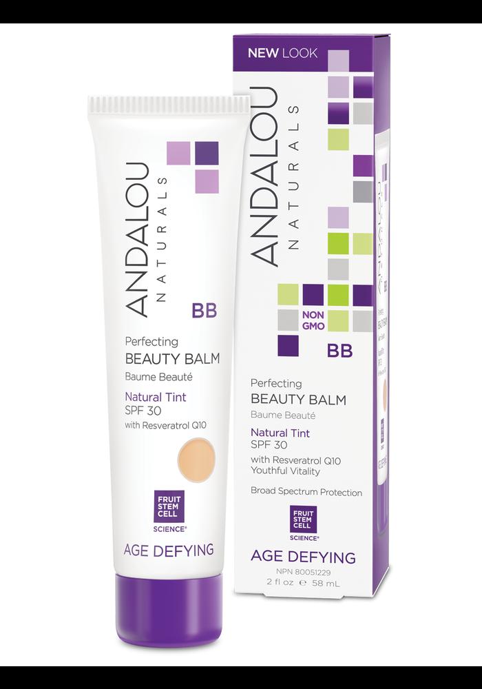 Andalou - AGE DEFYING - Baume Beauté BB crème FPS 30 - Natural Tint 58ml