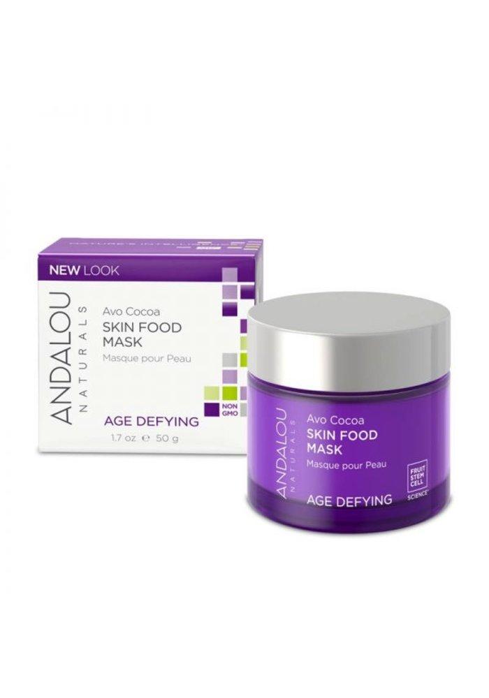 Andalou - AGE DEFYING - Masque visage - Avo Cocoa 50g