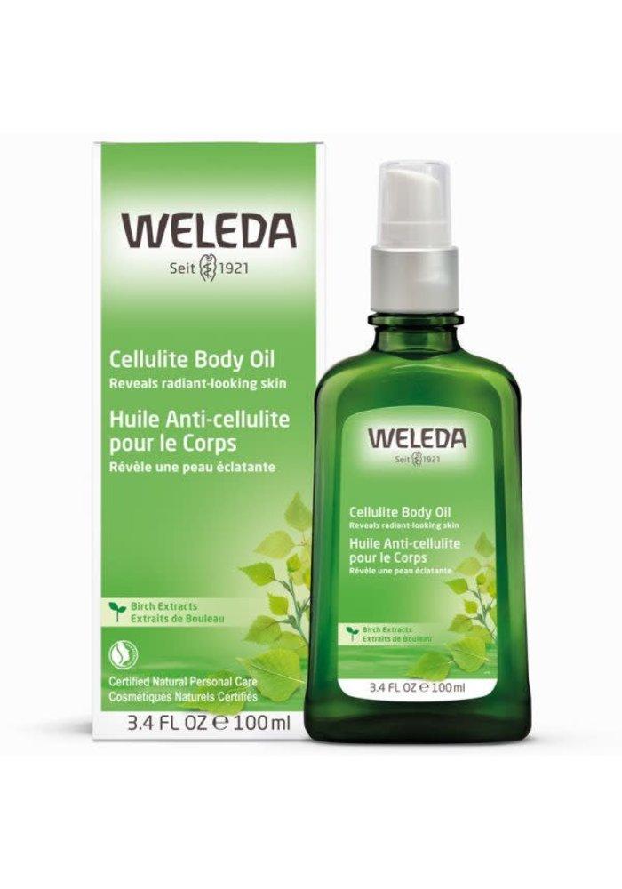 Weleda - Huile anti-cellulite pour le corps Extraits de bouleau 100ml
