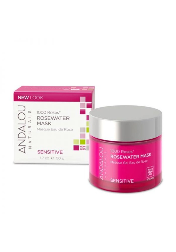 Andalou - 1000 Roses SENSITIVE - Masque Eau de Rose 50g