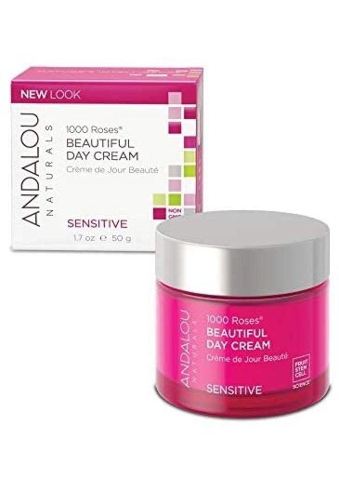 Andalou - 1000 Roses SENSITIVE - Crème de Jour 50g