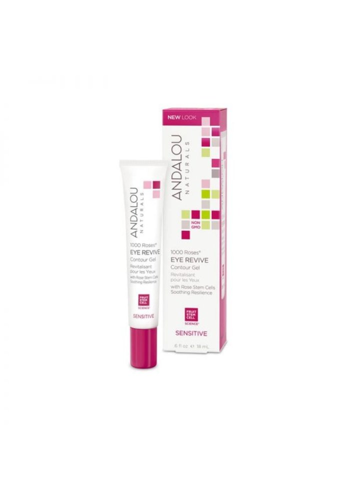 Andalou - 1000 Roses SENSITIVE - Gel contour yeux 18 ml
