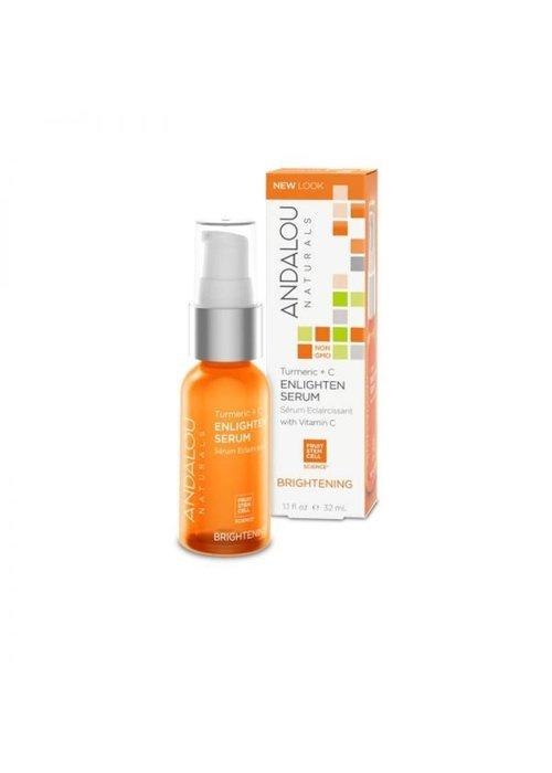 Andalou Andalou - ÉCLAIRCISSANTE - Sérum Éclaircissant Vitamine C  32 ml