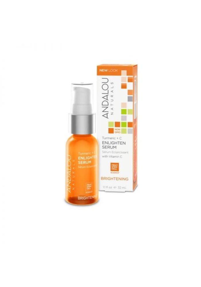 Andalou - ÉCLAIRCISSANTE - Sérum Éclaircissant Vitamine C  32 ml