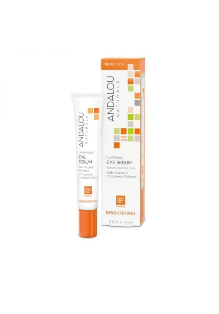 Andalou - ÉCLAIRCISSANTE - Sérum pour les yeux - Vitamine C  18 ml