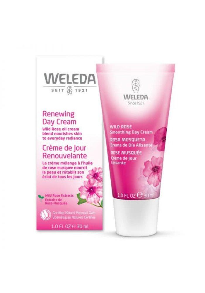 Weleda - Crème de jour renouvelante Rose Musquée 30ml
