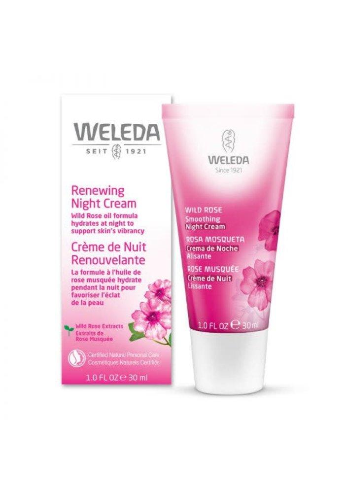 Weleda - Crème de nuit renouvelante Rose Musquée 30ml