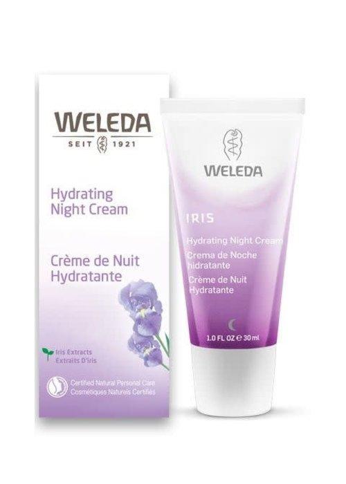 Weleda Weleda - Crème de nuit hydratante Iris 30ml