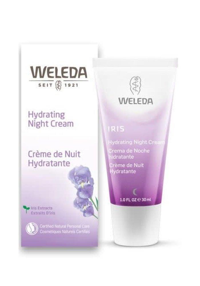 Weleda - Crème de nuit hydratante Iris 30ml