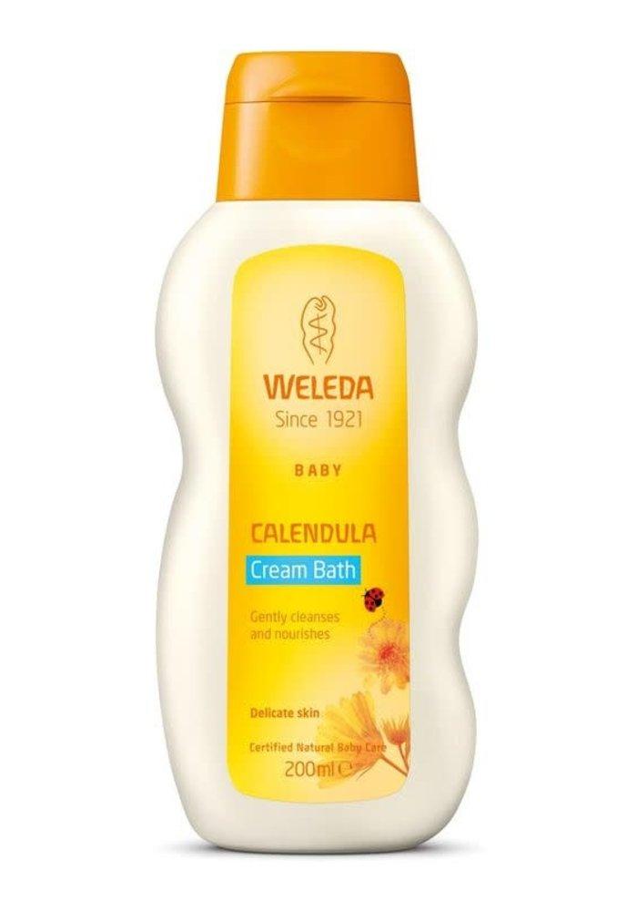 Weleda - Crème bébé pour le bain calmante Calendula 200ml
